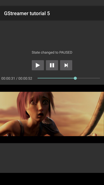 Android tutorial 5: A Complete media player